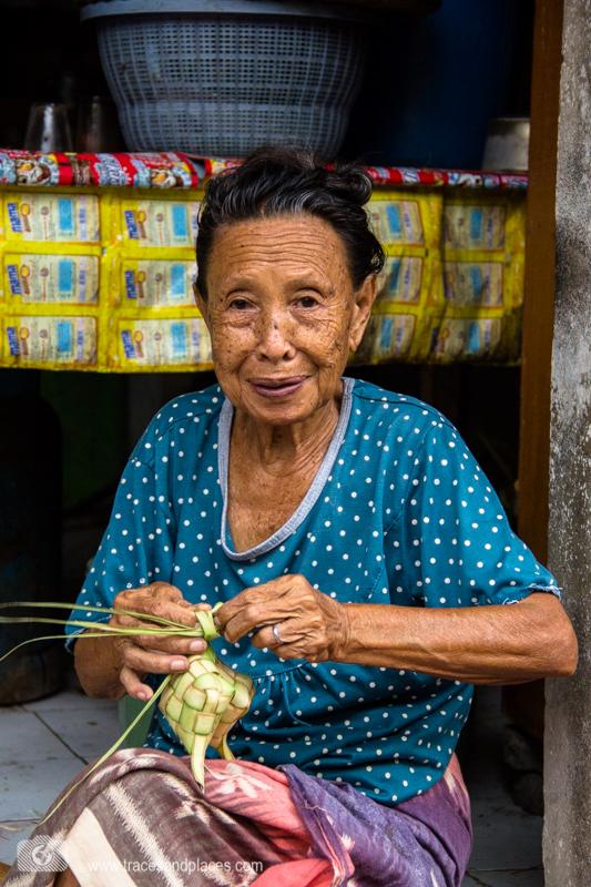 Bali - Ostbali - Tenganan - Frau