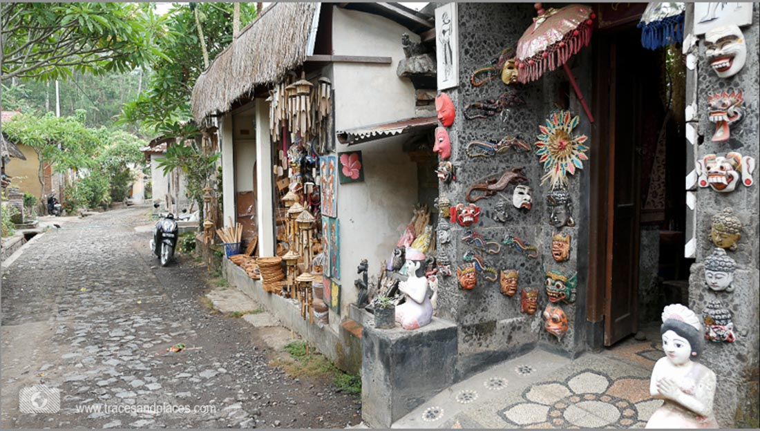 Das Dorf Tenganan in Bali