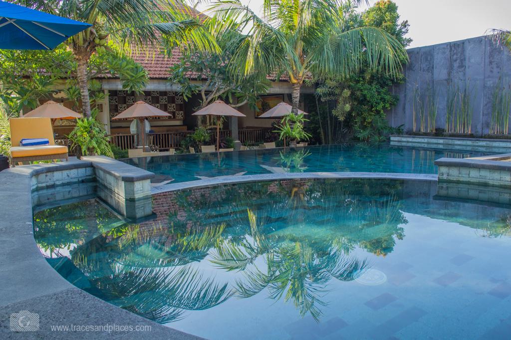 Pool im Natya Hotel Tanah Lot