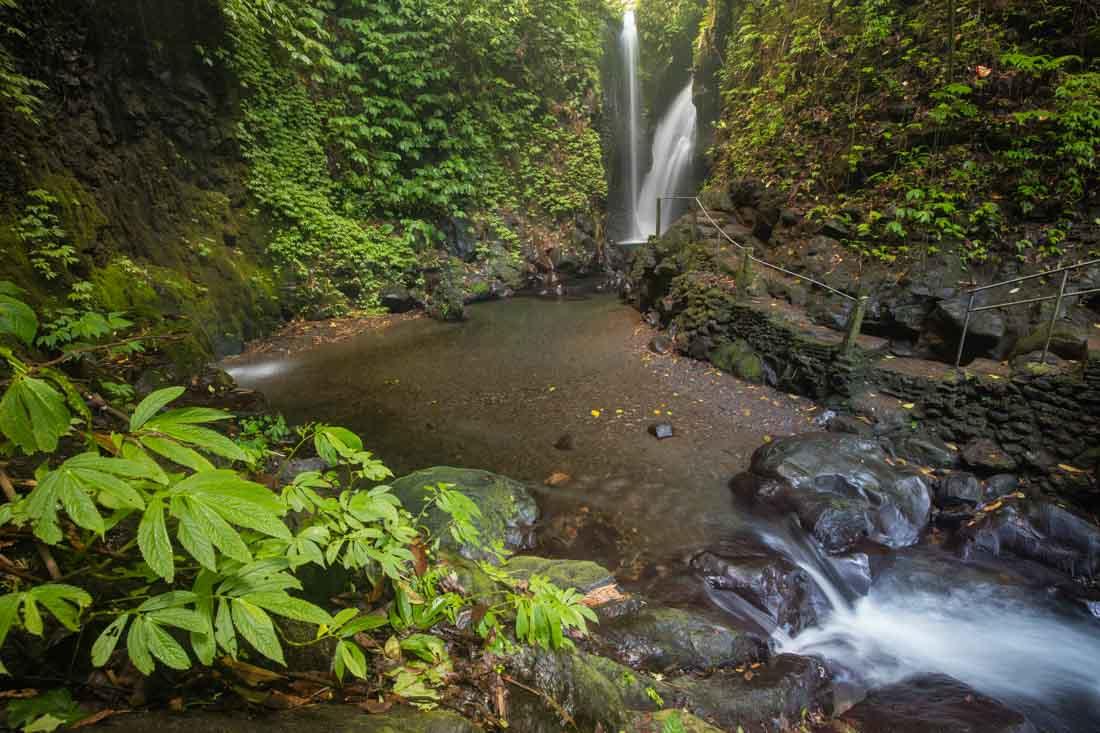 Sehenswürdigkeiten - Die schönsten Wasserfälle von Bali - Git Git Wasserfall