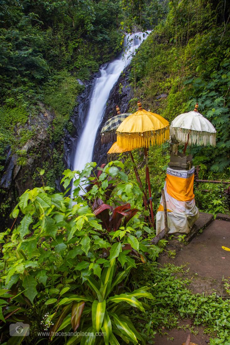 weiterer Wasserfall bei Gitgit_