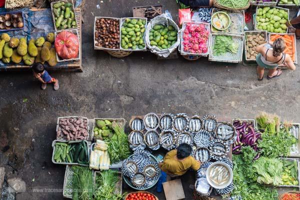 Gemüse Ubud Markt