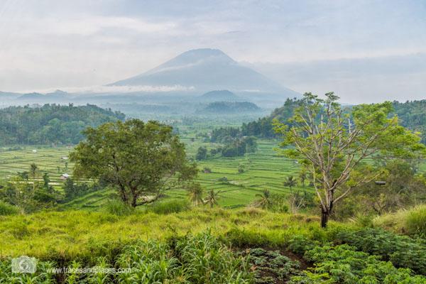 Bali - Ostbali - Tirtagangga - Ausblick von Bali Asli