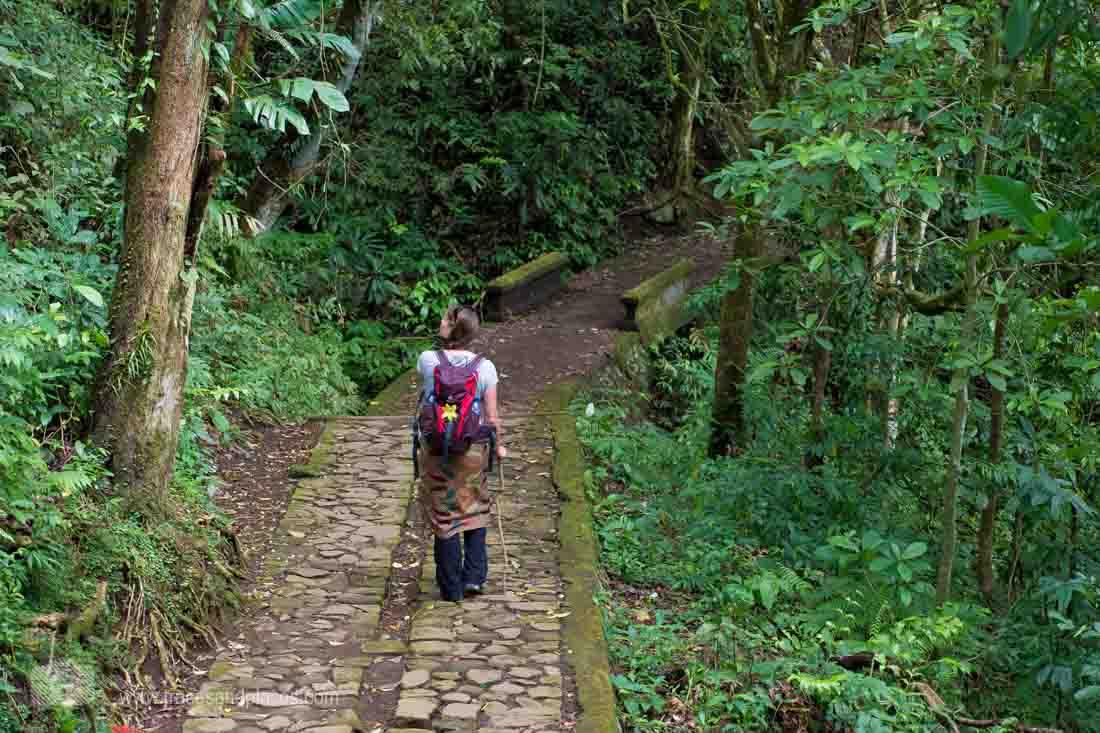 Wandern in Bali