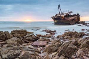 Schiffswrack bei Cape Agulhas