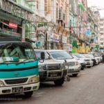 Altstadt in Yangon