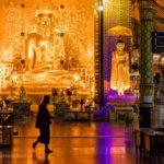 Buddha in Tempel von Yangon