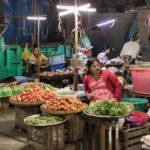 Nachtmarkt in Yagons Strassen