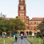 Kolonialgebäude - Gerichtshof in Yangon