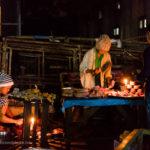 Metzgerei in Yangon am frühen Morgen