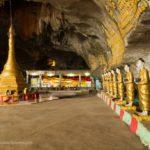 Saddan Höhle mit Buddhas in Hpa-An