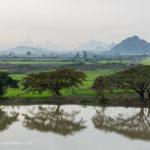 Ausblick von Kyauk Ka Lat Pagode in Hpa-An