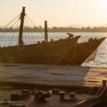 Sonnenuntergang am Hafen von Mawlamyaing