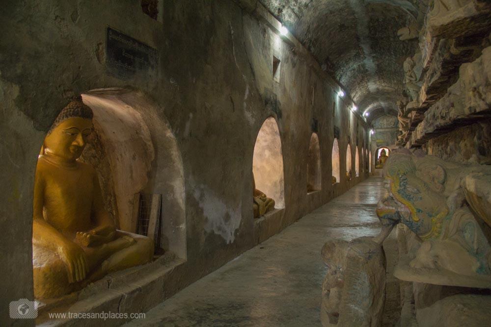Im Inneren des Shitthaung Tempel