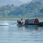Fahrt zum Chin Dorf in Mrauk-U