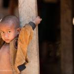 Junge im Chin Dorf Mrauk-U