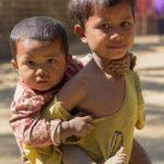 Kinder im Chindorf