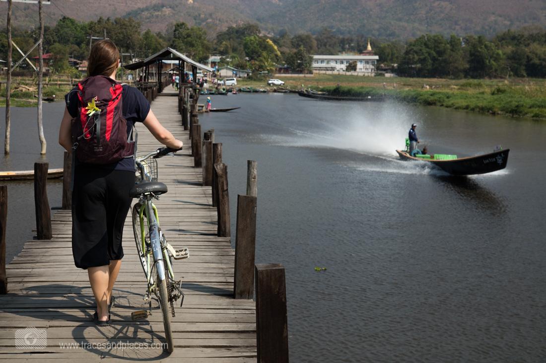 Mit dem Fahrrad den Inle See erkunden