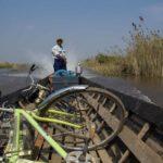 Bootsüberfahrt Fahrradtour Inle See