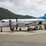 Flugzeug von Air Rarotonga