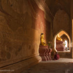 Gang im Sulamani Tempel