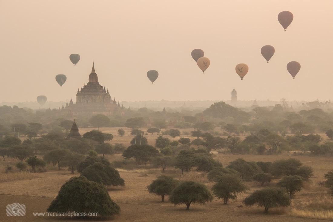 Ausblick von Nord Guni in Bagan