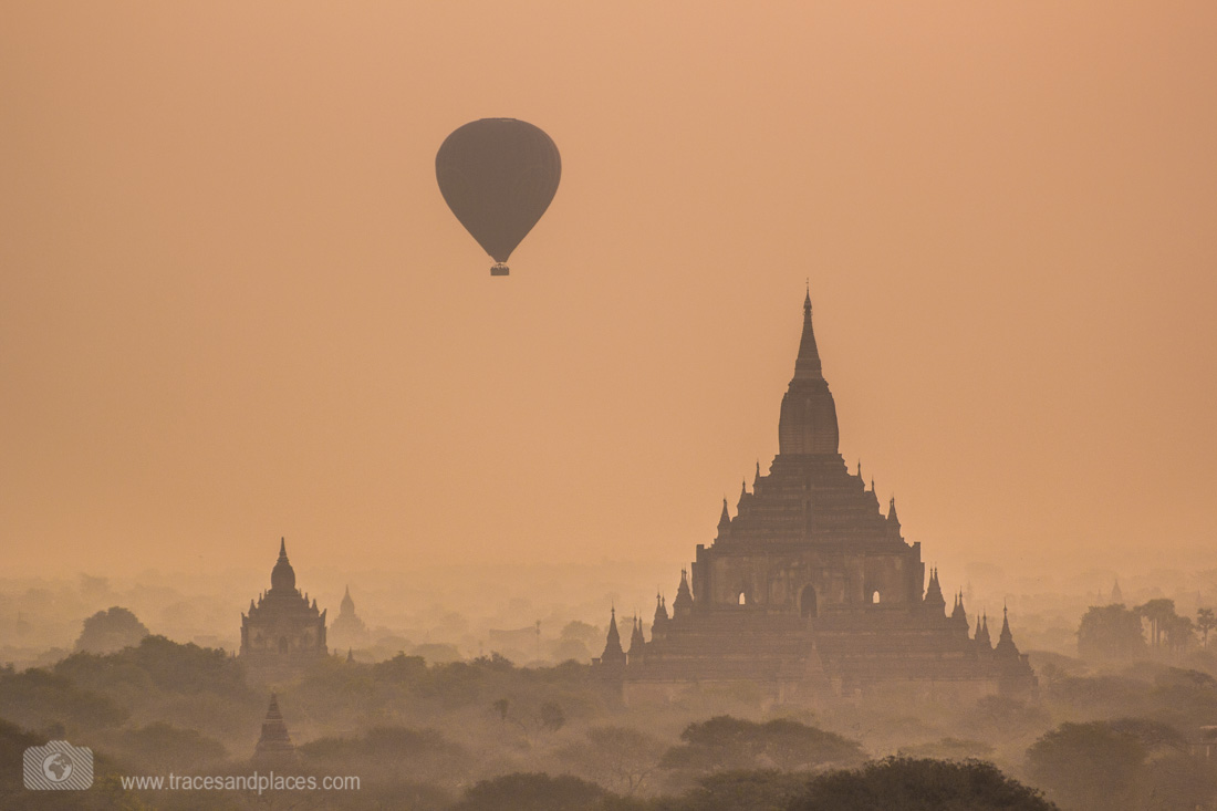 Sulamani Tempel mit Ballon