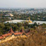 Ausblick Mandalay Hill