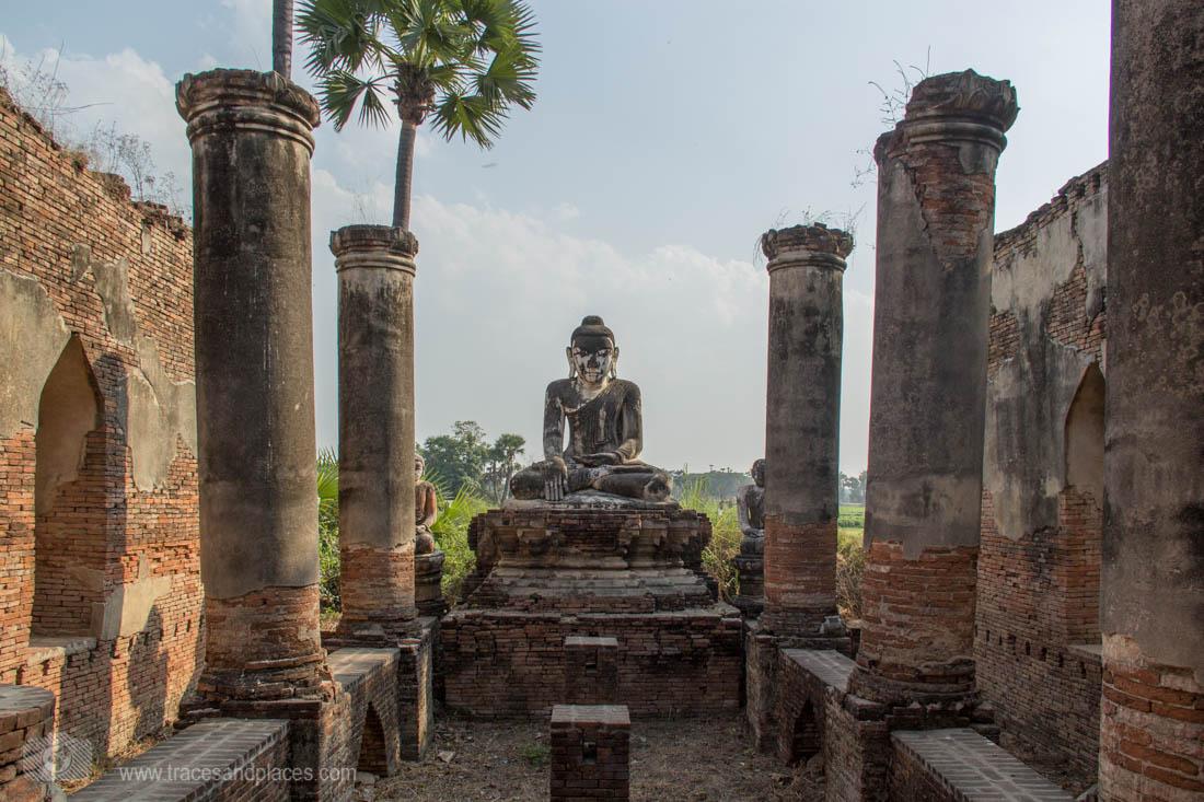 Inwa - Reste einer Tempelstätte