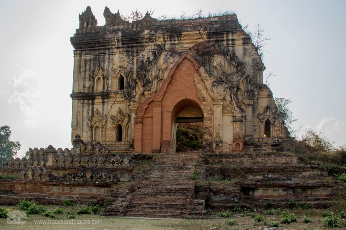Alte Tempel Ruine in INwa
