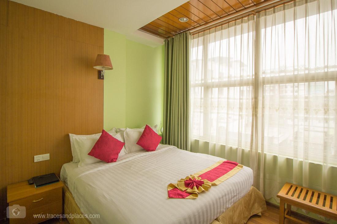 Doppelzimmer im A1 Hotel - schlicht aber sauber