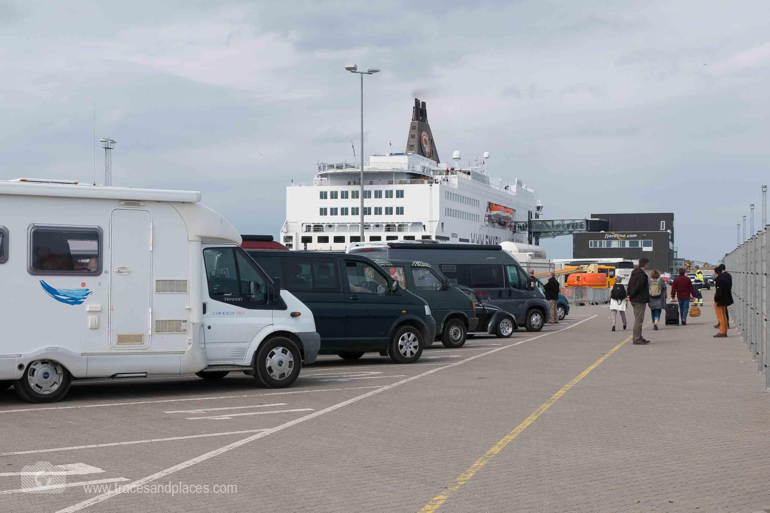 Abfahrt in Hirtshals mit Smyril Line nach Island