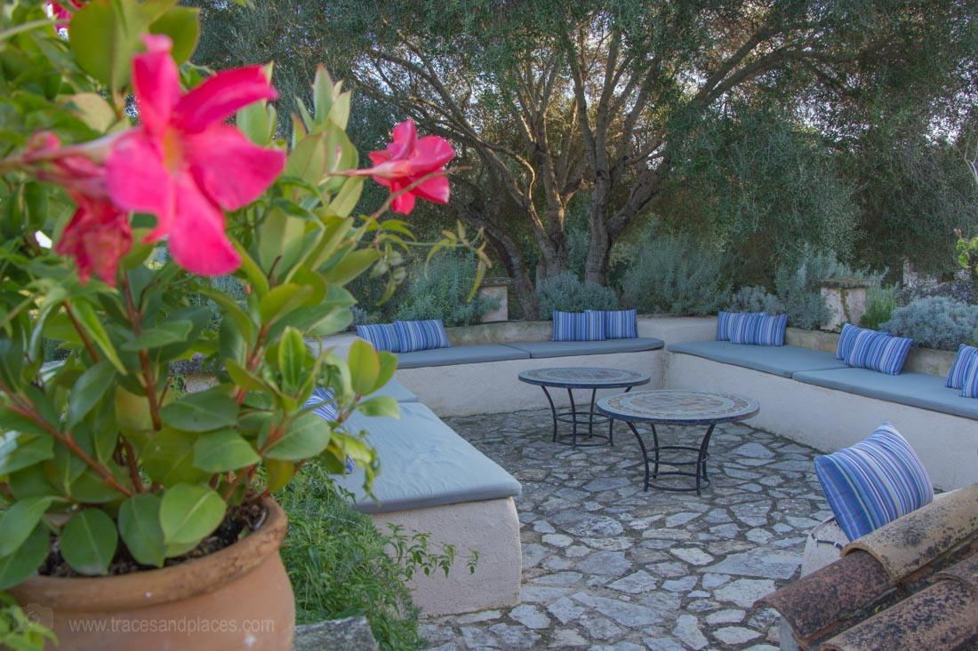 Yoga Finca Mallorca Garten